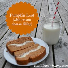 christmas time, thanksgiving crafts, diy crafts, halloween sweets, bread, chees fill, pumpkin loaf, baking, cream cheese frosting