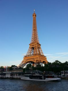 More of the Tour Eiffel from the Seine!