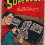 Superman #49 Comic Book Front Cover