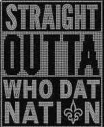 Whodatnation, New Orleans Saints
