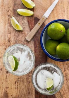 Gin and Tonic Recipe: Growing up in New England, gin and tonic is the classic summer drink. It's bracing, fresh, cool, and not overly potent. The joke was that they tasted like after-shave lotion, but to be honest, ...