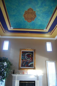 Ceiling Mural Design Ideas, Pictures, Remodel, and Decor - page 8