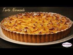 Recette de la Tarte Normande aux Pommes - YouTube Apple Pie Recipes, Fruit Recipes, Cooking Recipes, Apple Pies, Party Recipes, Party Desserts, Dessert Party, Pie Crumble, Apple Fruit