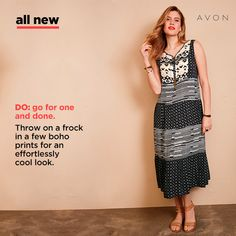 The New Nila Peasant Dress is super cute.  Now available from Campaign 16. http://go.youravon.com/33j34d