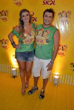 Mirella e Ceará (Foto:  Felipe Souto Maior / AgNews)