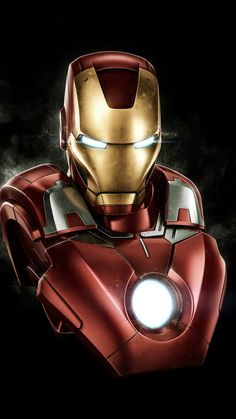 Iron man, dark, artwork, 720x1280 wallpaper