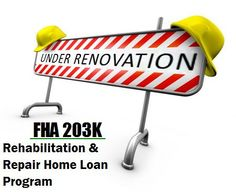 Many people are not aware of a Special Government Home Renovation Home Loan Program that is part of the Federal Housing Administration or FHA(a department within HUD). For more information on renovation or rehabilitation of your home using The Woodlands Texas FHA 203K Mortgage Loans and the surrounding area please contact Richard Smith at (281) 994-4240. We always welcome the opportunity of helping you! :)