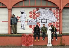 Cool Graffiti Art - Shop Shutters Brought To Life | Cool Things | Pictures | Videos