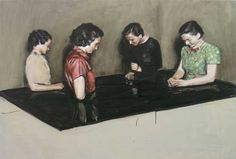 SABLE CASTLE: Michaël Borremans: A Knife in the Eye