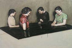 SABLE CASTLE: Michaël Borremans: A Knife in the Eye