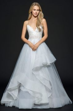 Halter Princess/Ball Gown Wedding Dress  with Natural Waist in Tulle. Bridal Gown Style Number:33465766