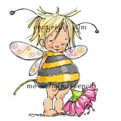 Mo's Digital Pencil - Baby Fairy Bee, $3.00 (http://www.mosdigitalpencil.com/baby-fairy-bee/)