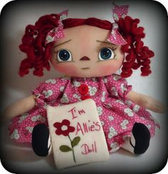 All is Bright: Fabric + Body = Doll