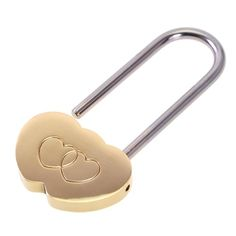 Okeler Solid Brass Love Lock Wish Lock Double Heart Padlock Everlasting Love for lovers with Free Pen Okeler,http://www.amazon.com/dp/B00H07652I/ref=cm_sw_r_pi_dp_hecFtb1HZJ90GN1D