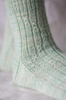 Matcha Gelato pattern by Clare Devine – stricken Socken – Home crafts Knitting Socks, Baby Knitting, Knit Socks, Knitting Room, Knitting Machine, Vintage Knitting, Free Knitting, Crochet Shoes, Knit Crochet