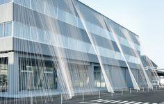 Gallery of Kengo Kuma Uses Carbon Fiber Strands to Protect Building from Earthquakes - 6