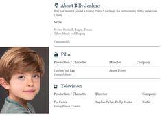 Billy Jenkins is Johnny