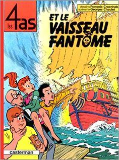 Bande Dessinée   - Les 4 as, tome 16 : Les 4 as et le vaisseau fantôme - Georges Chaulet, François Craenhals, Chaulet Georges - Livres