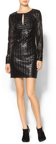Piperlime Collection Allover Embellished Dress