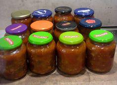 Salsa, Garlic, Jar, Lactose, Charcuterie, Gluten, Table, Mason Jar Meals, Jar Recipes
