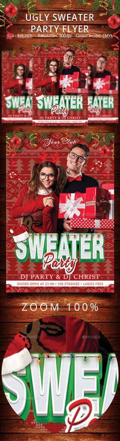 Holiday Party Flyer Template Christmas parties, Snowflakes and Shape - holiday party flyer template
