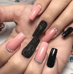 Stylish Nails, Trendy Nails, Cute Acrylic Nails, Cute Nails, Hair And Nails, My Nails, Nail Manicure, Nail Polish, No Chip Nails