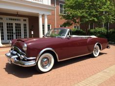 1953 Packard Caribbean Convertible..Re-pin Brought to you by agents at #HouseofInsurance in #EugeneOregon for #AutoInsurance