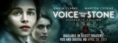 Voice from the Stone is a haunting and suspenseful romance set in 1950s Tuscany. This Hitchcock fairy tale stars Emilia Clarke, Marton Csokas, Caterina Murino, Remo Girone, Lisa Gastoni, and Edward Dring. Written by Anonymous