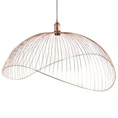 Candeeiro de teto de metal acobreado on Maisons du Monde. Take your pick from our furniture and accessories and be inspired! Industrial Pendant Lights, Led Pendant Lights, Pendant Lighting, Wire Pendant, Pendant Lamp, Sun Lounger Cushions, Hallway Furniture, Lantern Candle Holders, Home Scents