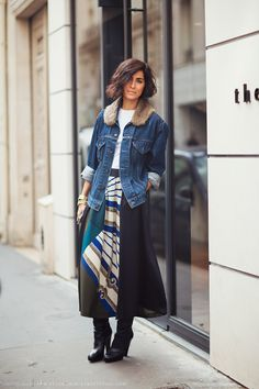 Cool balance and the boots! Carolines Mode | StockholmStreetStyle
