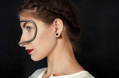 Lobe earrings, double sided earrings, tiger eye earrings, wooden earrings or just stud earrings- it is doesnt matter what kind of earring it is when we