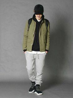 LOUNGE LIZARDのミリタリージャケット「高密度WEATHER FIELD JACKET TYPE M65」を使ったSessionLoungeLizard(LOUNGE LIZARD)のコーディネートです。WEARはモデル・俳優・ショップスタッフなどの着こなしをチェックできるファッションコーディネートサイトです。