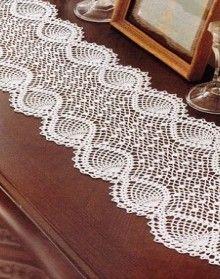 beautiful tablecloths crochet pattern