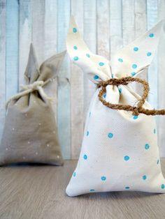Nähanleitung für eine Tasche mit Hasenohren zu Ostern.   von Fantasiewerk