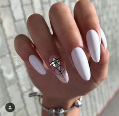 50 Beautiful Nail Art Designs & Ideas Nails have for long been a vital measurement of beauty and Nail Swag, Black Nail Designs, Nail Art Designs, Nails Design, Stylish Nails, Trendy Nails, Uñas Jamberry, Oval Nails, Super Nails