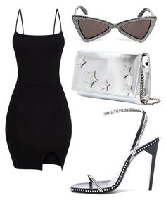 """Untitled #110"" by briluxlife ❤ liked on Polyvore featuring Giuseppe Zanotti, Yves Saint Laurent and StarOutfits"