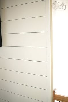 No Power Tools Needed. You Won't Believe This Technique! How to do shiplap. How to put up shiplap tutorial. Shiplap Bathroom, Brown Bathroom, Small Bathroom, Bathroom Ideas, Relaxing Bathroom, Bathroom Canvas, Dream Bathrooms, Bathroom Cabinets, Walk In Shower Designs