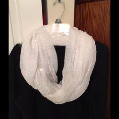 Sonoma White Scarf Sonoma white scarf. Sonoma Accessories Scarves & Wraps