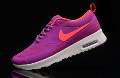 Hot Nike Air Max Thea Print Czerwona Róża Kwiat Wydruku Online Buty Damskie