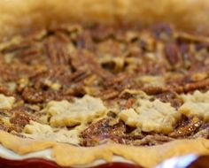 Spice up Thanksgiving dessert with this bourbon pecan pie recipe.