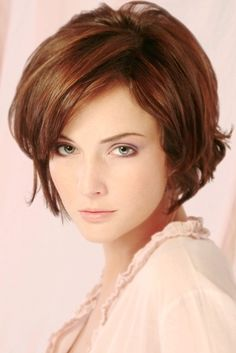 Modern Layered Bob Hair Style  Pretty color
