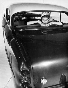 Photo by Erwin Blumenfeld, New York, 1953