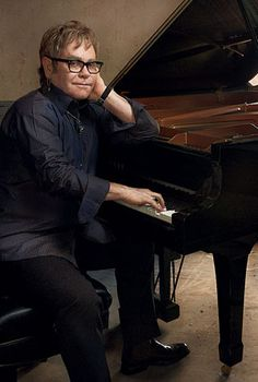 Annie Leibovitz Captures Moment in Time with Elton John in Front of Yamaha Pianos.  Elton John is touring now.  If you haven't seen him live, you are missing out on an outrageous entertaining show!