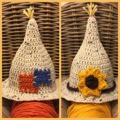 Crochet Scarecrow Hat For Baby Boy OR Girl by YarnCreationsByKarla Baby Boy Hats, Baby Boy Or Girl, Crochet Ideas, Crochet Patterns, Crochet Hats, Fall Decorations, Handmade Decorations, Scarecrow Costume, Halloween Crochet