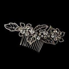 Antique Silver Comb