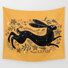 LEPUS Wall Tapestry by MelissaBailey | Society6