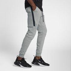 92ae410a4a540 Nike Sportswear Tech Fleece Men's Joggers - Grey Fleece Joggers, Mens  Joggers, Sweatpants,