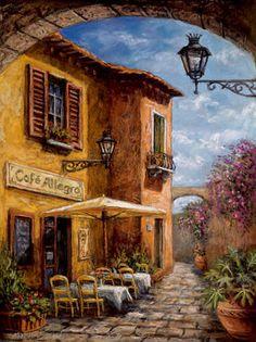 Courtyard Cafe Malcolm Surridge