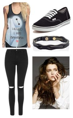 """""""Untitled #46"""" by neilleea on Polyvore featuring Topshop, Vans and Isabel Marant"""