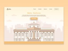 """This is a proof of restyle of the website of the """"Teatro Massimo"""" in Palermo  Follow: https://dribbble.com/shots/3565796-Sneakpeek-Theatre  Vincenzo Insinna"""
